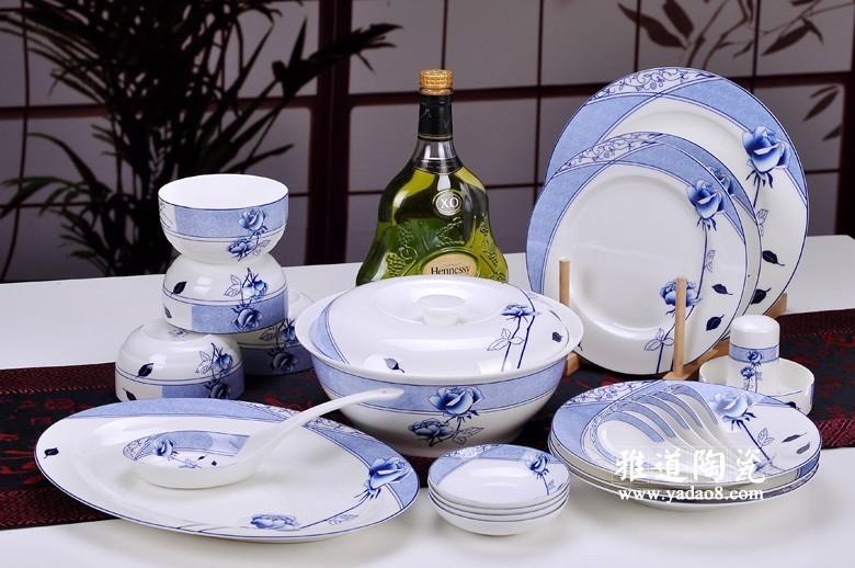 花样年华青花瓷餐具