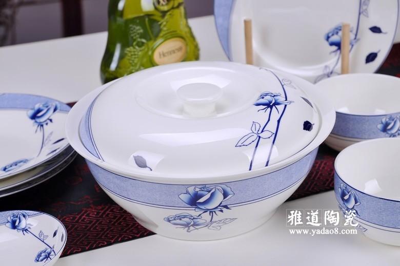 花样年华青花瓷餐具-品锅
