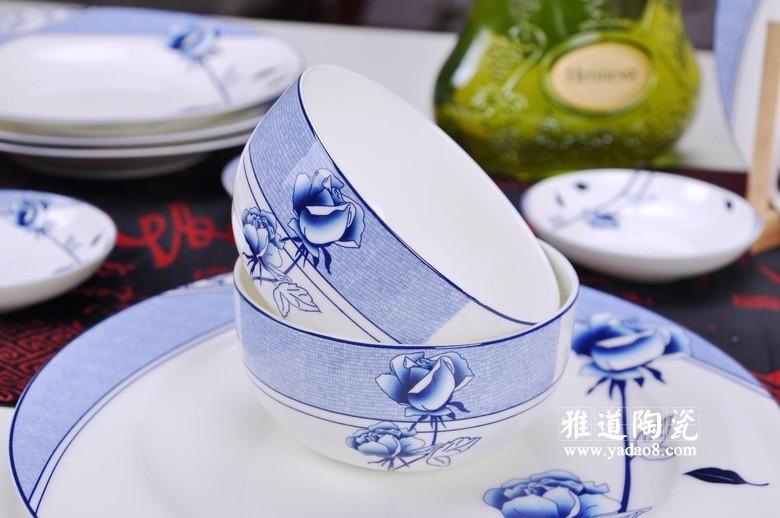 花样年华青花瓷餐具-碗