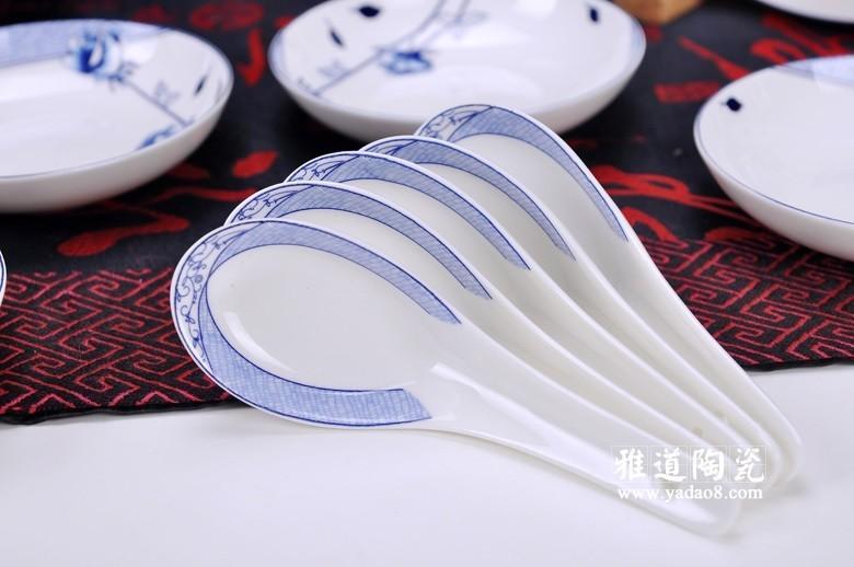 花样年华青花瓷餐具-勺子
