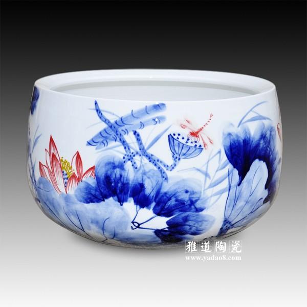 小型金鱼缸-景德镇陶瓷批发网