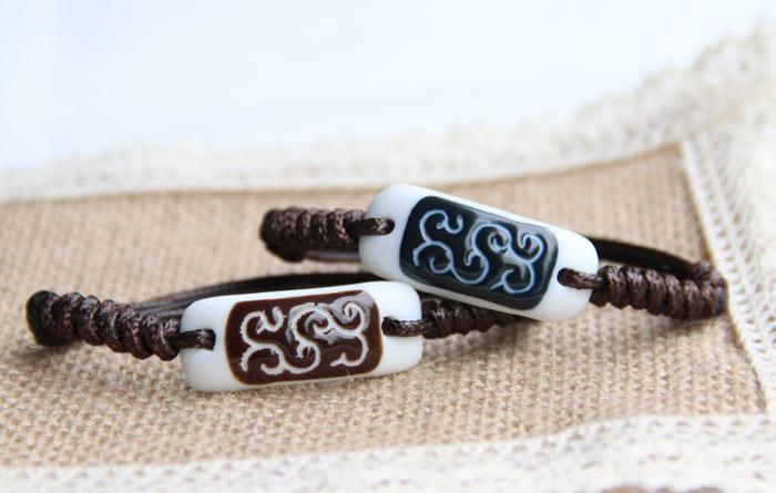 民族风陶瓷闺蜜姐妹情侣手链