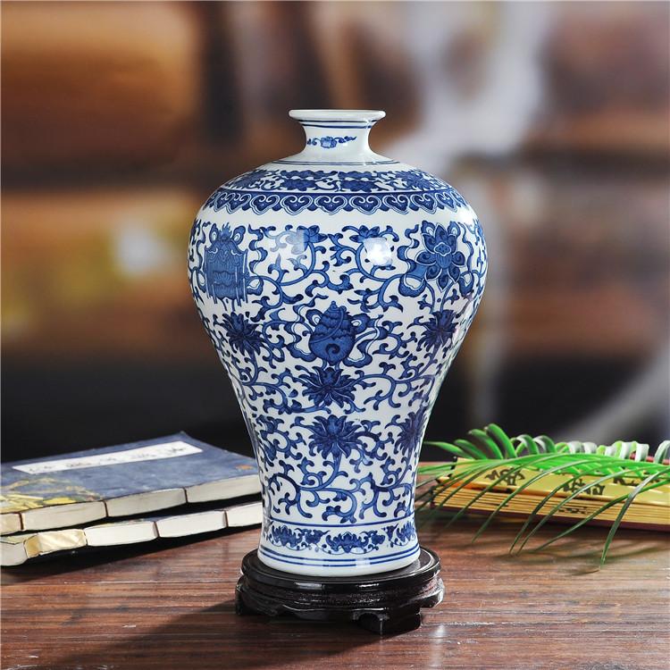 景德镇陶瓷缠枝莲优乐国际2