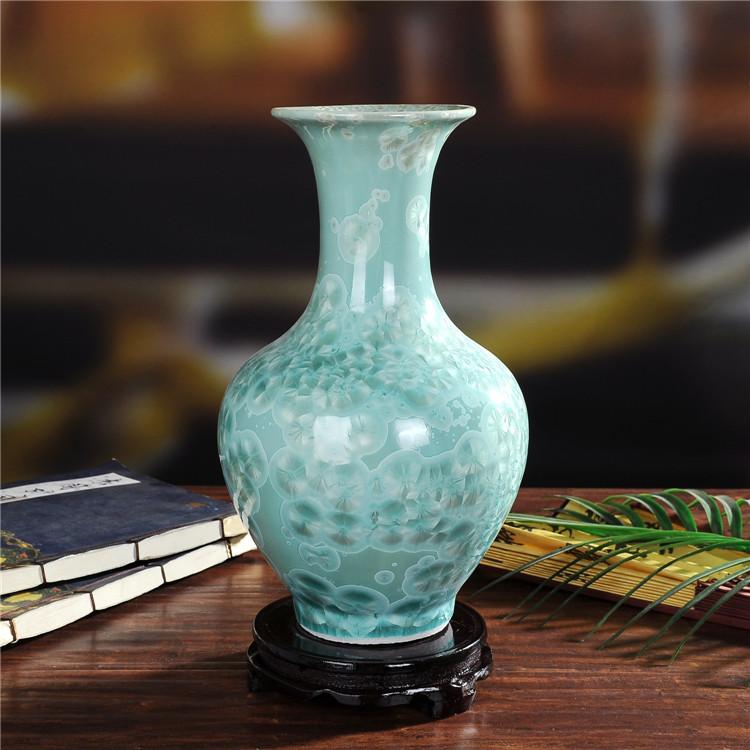 景德镇陶瓷珍珠釉陶瓷赏瓶