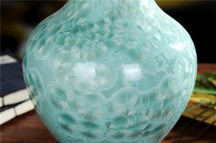 景德镇陶瓷珍珠釉陶瓷花瓶摆件