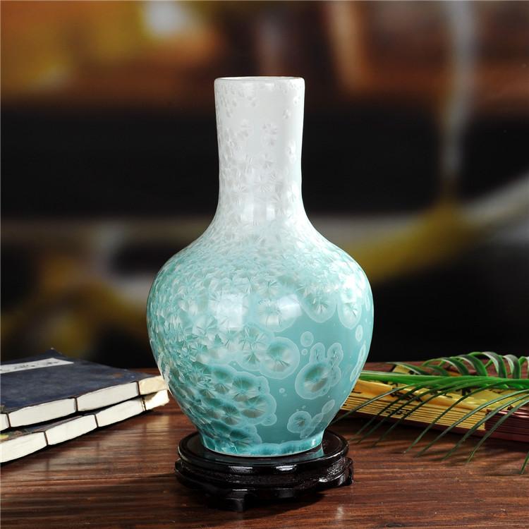 景德镇陶瓷珍珠釉陶瓷天球瓶