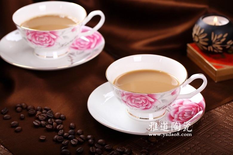 景德镇高档礼品陶瓷咖啡具套装