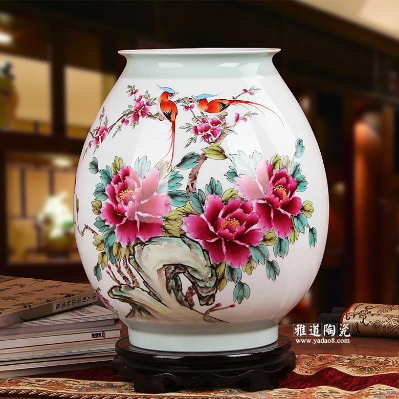 陶瓷花瓶艺术品-室内装饰花瓶