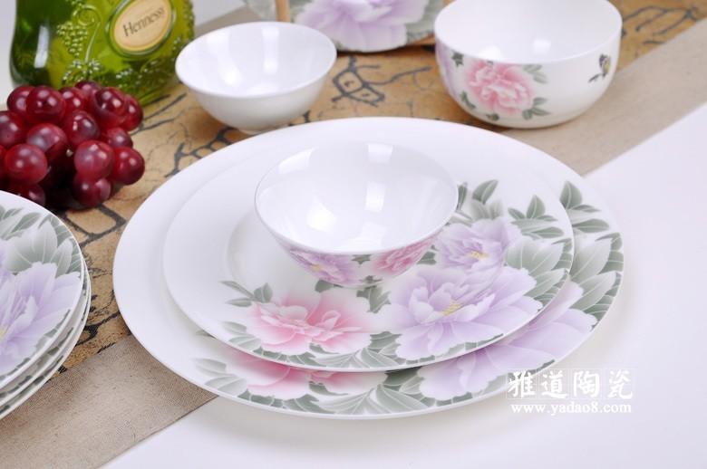 景德镇高档骨瓷餐具批发