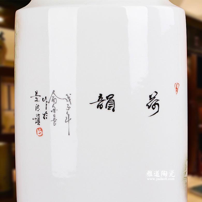 景德镇手绘陶瓷花瓶