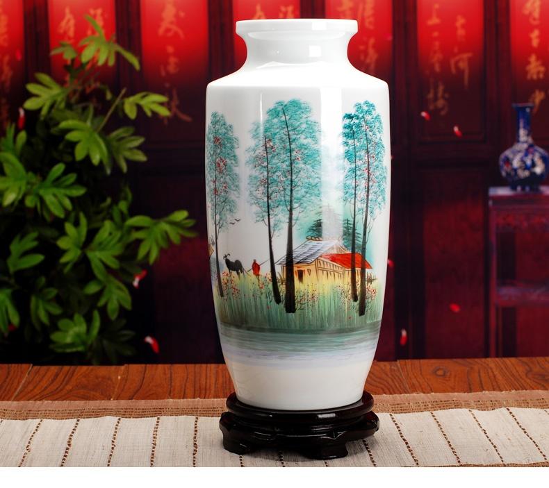 景德鎮陶瓷花瓶 家居装饰品摆件