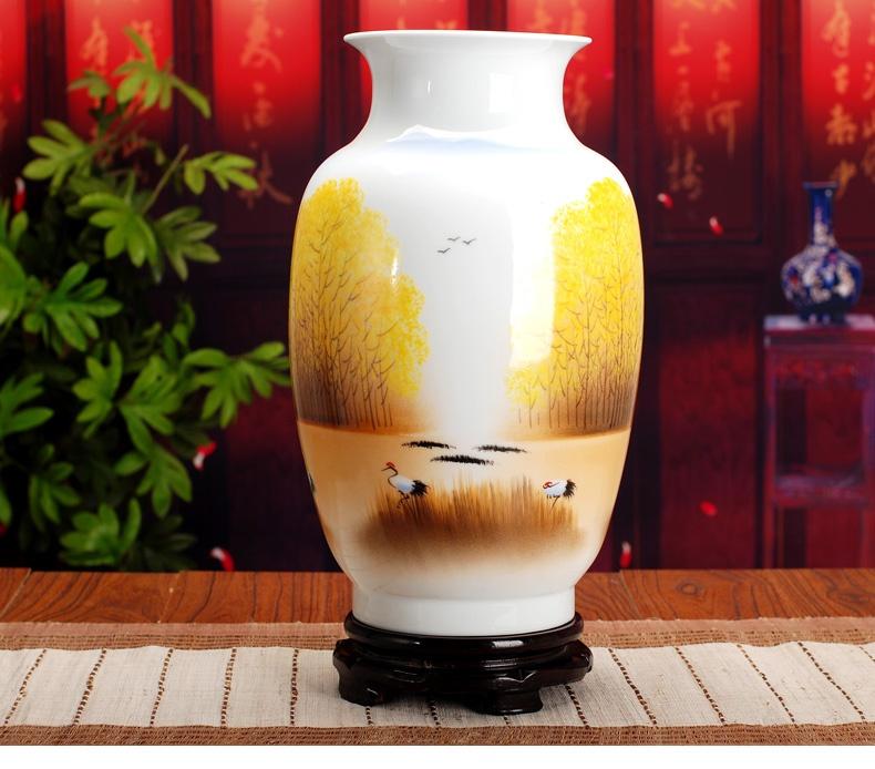 景德镇陶瓷花瓶(秋韵)