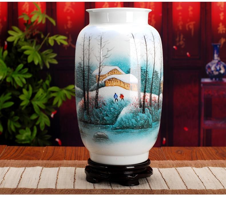 景德镇陶瓷花瓶(乡村)