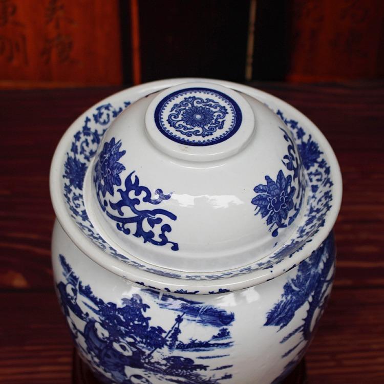 陶瓷腌菜坛子-顶部