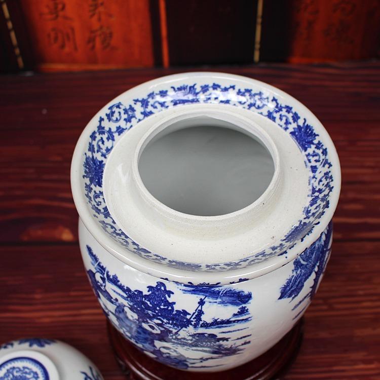 陶瓷腌菜坛子-口部