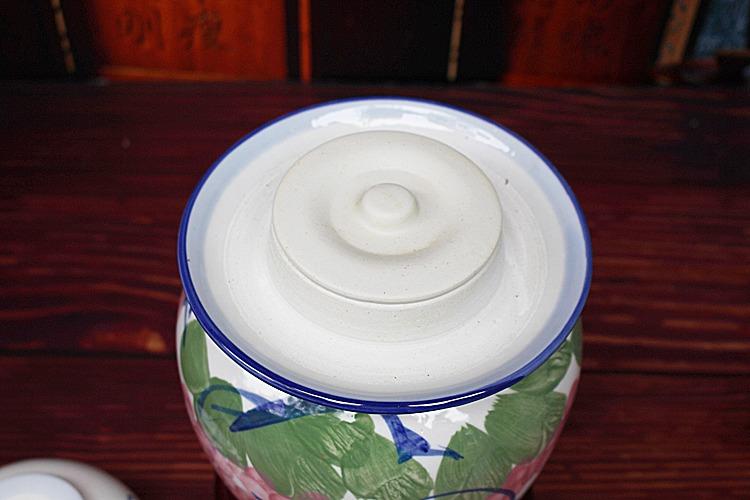 小号陶瓷泡菜坛子-内盖图