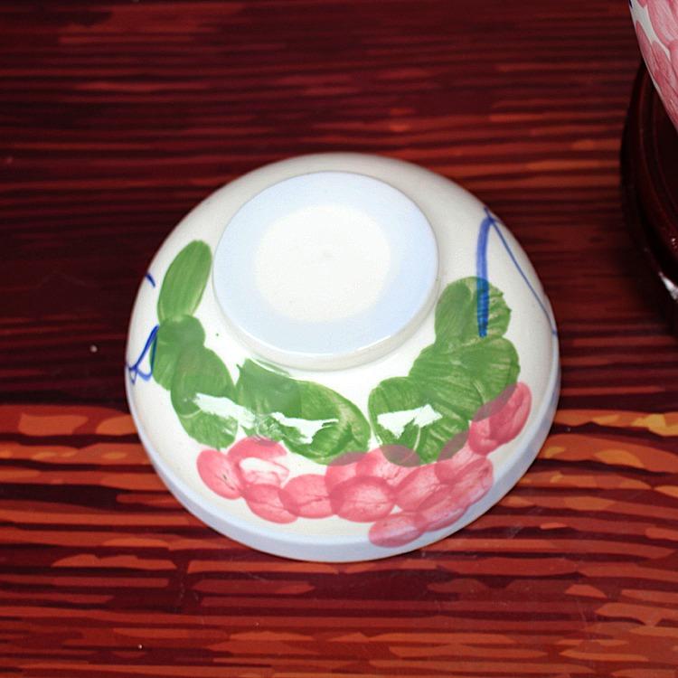 小号陶瓷泡菜坛子-外盖图