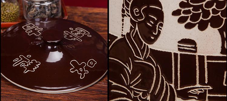30斤陶瓷米坛-细节图