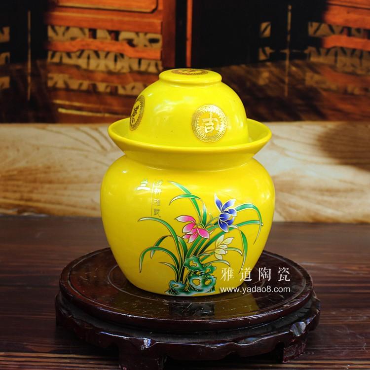 景德镇陶瓷4斤泡菜坛子