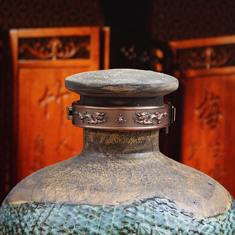 复古藏酒酒坛-原浆款盖子