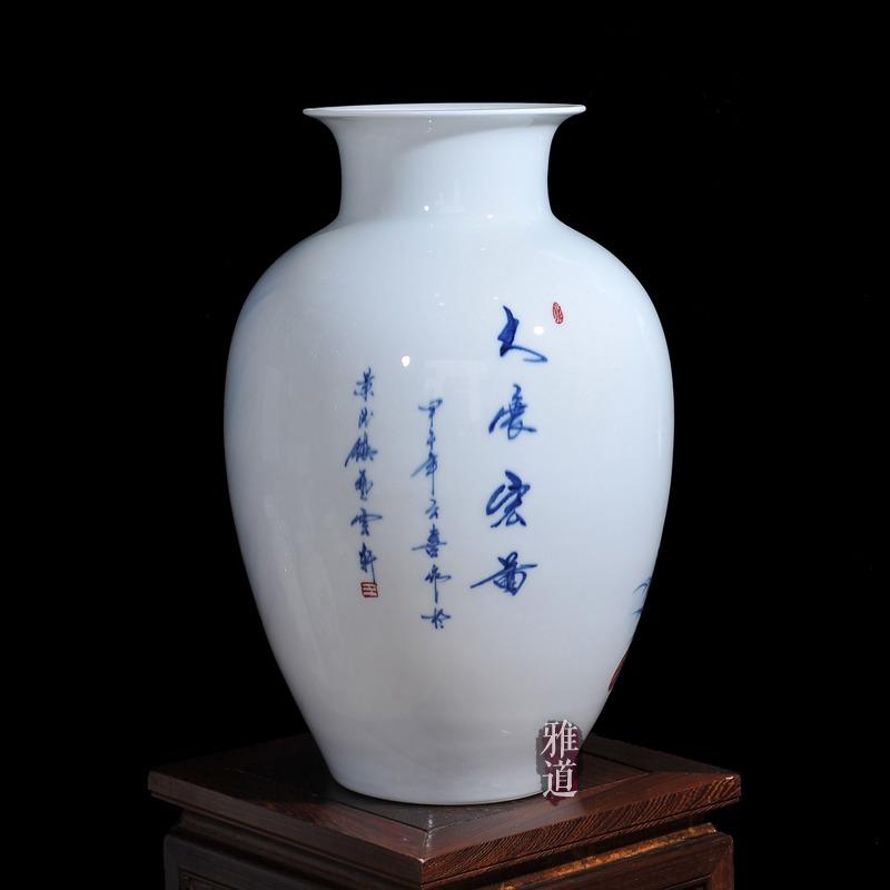 王云喜手绘花瓶家居装饰收藏工艺礼品