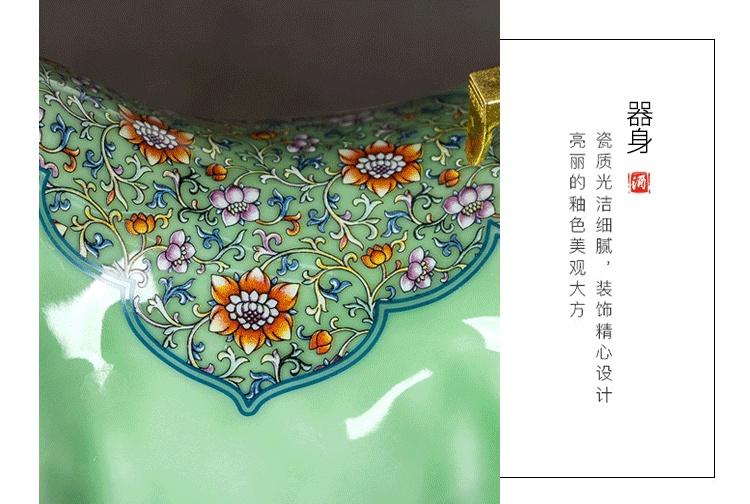 景德镇5斤装工艺陶瓷酒坛财势如虹