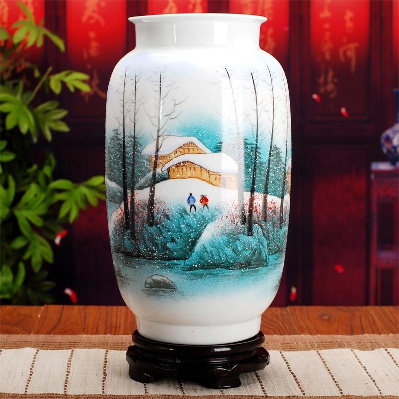 景德镇陶瓷花瓶家居装饰品摆件(多款)
