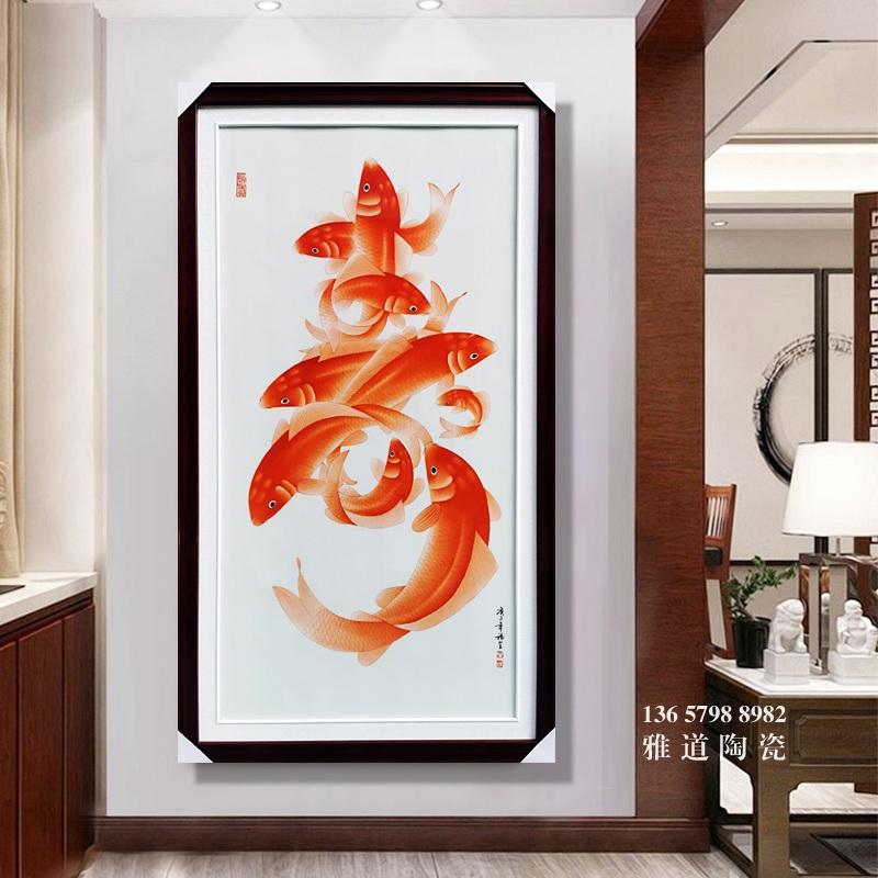景德镇名家手绘祝寿礼品瓷板画