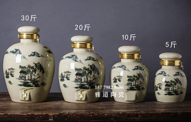 5斤10斤20斤30斤高温陶瓷酒坛批发