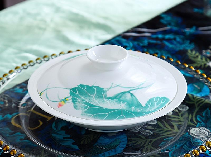 60头釉中精美骨瓷餐具套装(出水芙蓉)