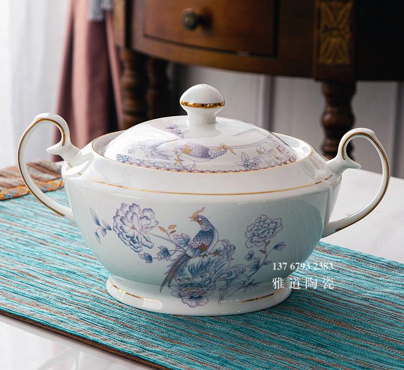 高档家用陶瓷餐具套装(60头锦上添花)
